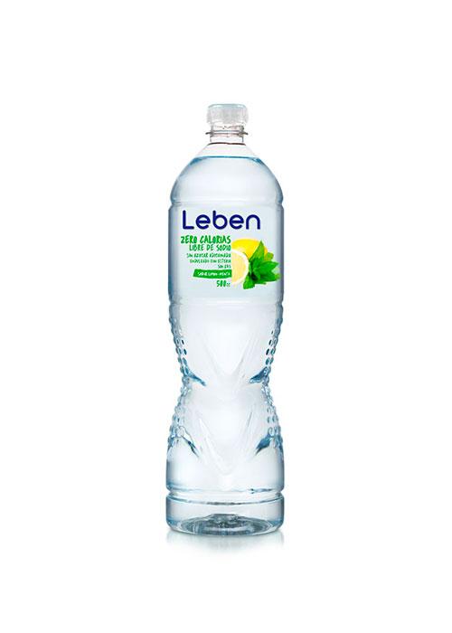 Agua Purificada Sabor Limon Menta 500 Cc
