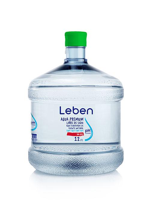 Recarga Agua Purificada Natural PH Alcalino 12 Lts