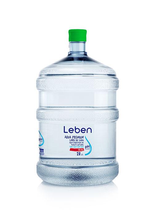 Recarga Agua Purificada Natural PH Alcalino 20 Lts